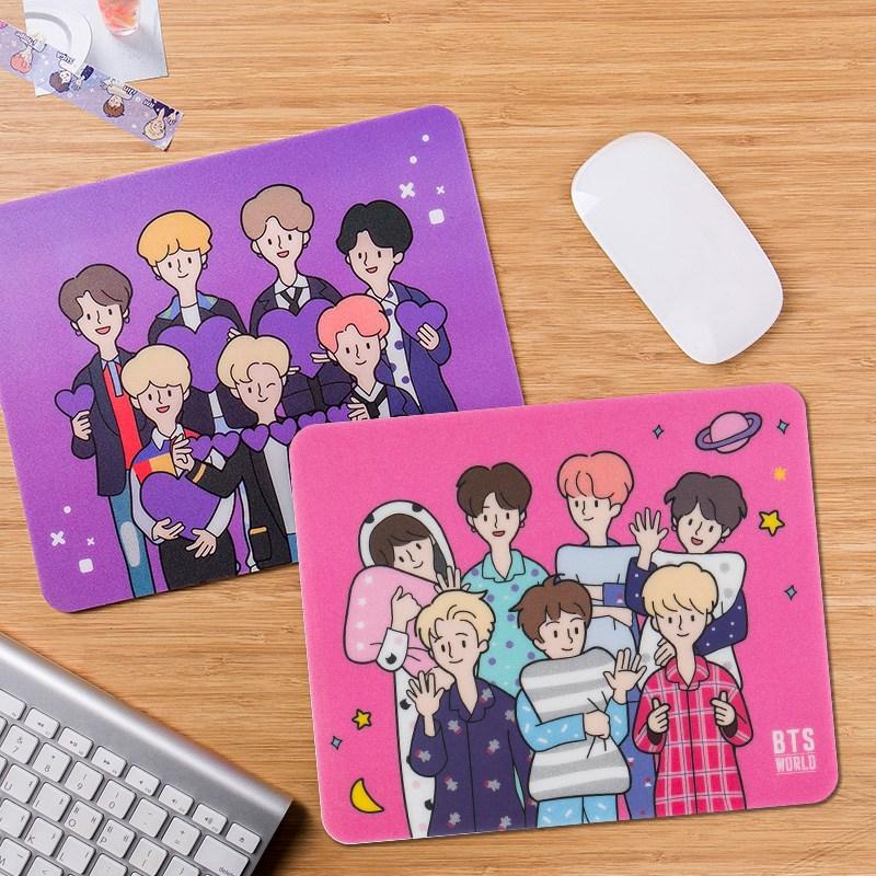 방탄소년단 BTS WORLD 마우스패드, 보라해 마우스패드(보라색)