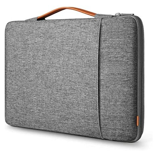노트북 파우치 Inateck 13-13.3 Inch Laptop Sleeve Carrying Case Bag Briefcase Compatible with 13 Inch MacBook Pro 2012-2019 MacBook Air 2010-2020 12.3 I, Size = 14 Inch | Color = Gray