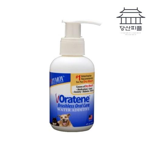 자이목스 오라틴 드링킹 워터 에더티브 115ml / 물에 타먹이는 치약 강아지치약 강아지입냄새 고양이치약 구강건조증, 1개