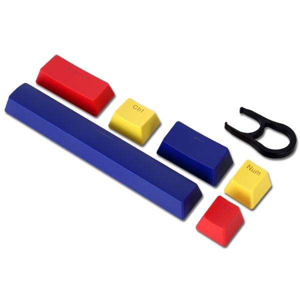 ABKO HACKER 6key 컬러풀 포인트 키캡 (V3), 단일상품