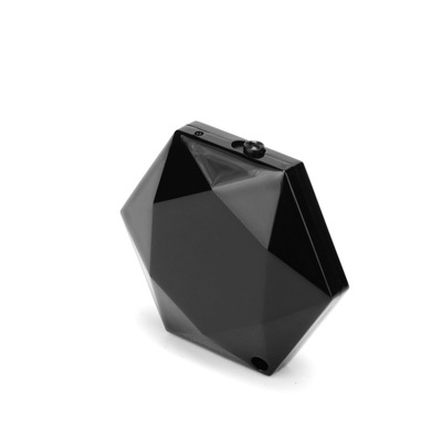 스마일직구 4GB 목걸이형 녹음기 별모양 다이아몬드 형, 블랙