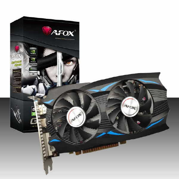 TWO1MALL [AFOX] GeForce GTX1050 TI 듀얼 D5 4GB [벌크] 그래픽카드, 421258