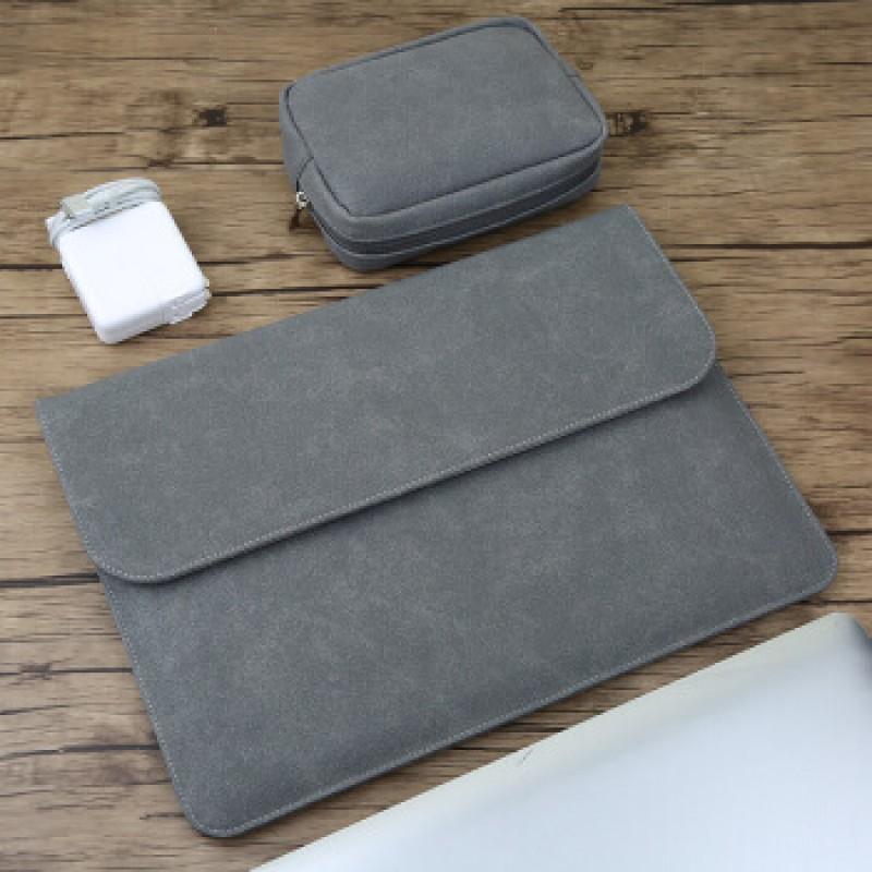 12 형 MacBook A1534 Apple 노트북 백 라이너 백 스크럽 라이너 라이너 진한 회색-단면 (소매 백 + 파워
