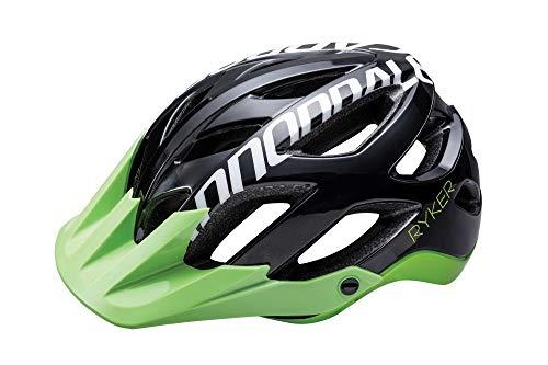 (관부가세포함) Cannondale Ryker AM Mountain Bicycle Helmet-B00UIVSRYW, Black/GreenSmall