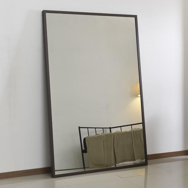 라움425 초대형 전신 와이드 스탠드 벽 거울 A003-벽걸이 1200*1820, 03월넛벽걸이