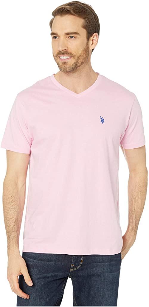 [미국]남성 티셔츠 폴로 V 넥 티 미스틱 핑크