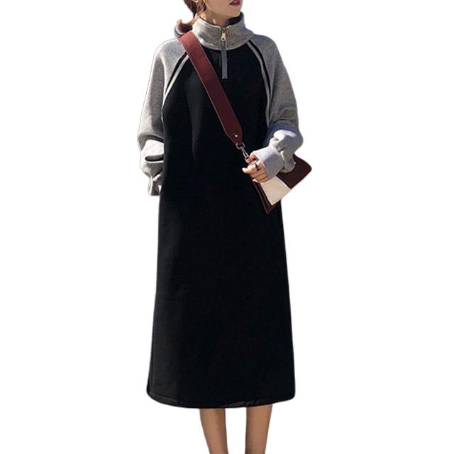 리더스타 여성긴팔티 기모 큰사이즈 자체제작 긴팔 티셔츠