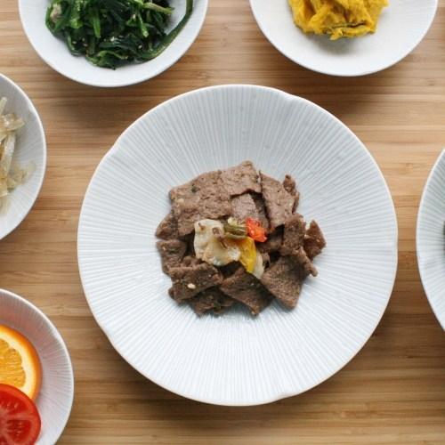 쿄센단 원접시 수입그릇 식빵접시 레트로그릇 명품그릇