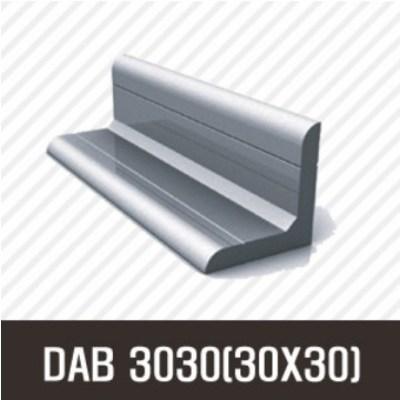 앵글 DAB 3030(30X30) 50mm/ 100mm/ 200mm/ 500mm/ 1000mm/ 1500mm/ 2000mm/앵글/프로파일 부품/ 프로파일/ 알미늄/ 대영, 100mm