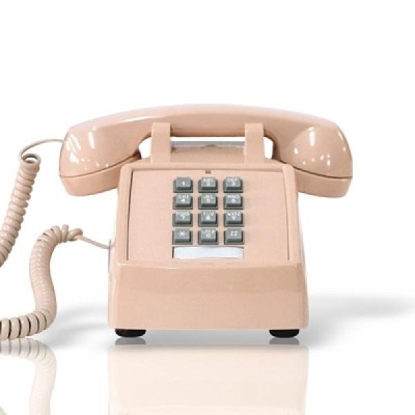 [핫트랙스] 원더스토어 [코텔코] Made in USA 코텔코 빈티지 데스크 유선전화기 연핑크, 모델명/품번