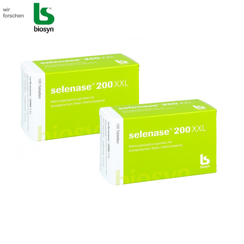 셀레나제 200XXL 셀레늄 온가족 건강식품 독일직배송, 2box