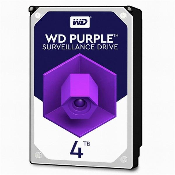 WD PURPLE (WD40PURZ) 3.5 SATA HDD (4TB), PURPLE 3.5 SATA HDD/40351, 4TB (POP 4591610044)