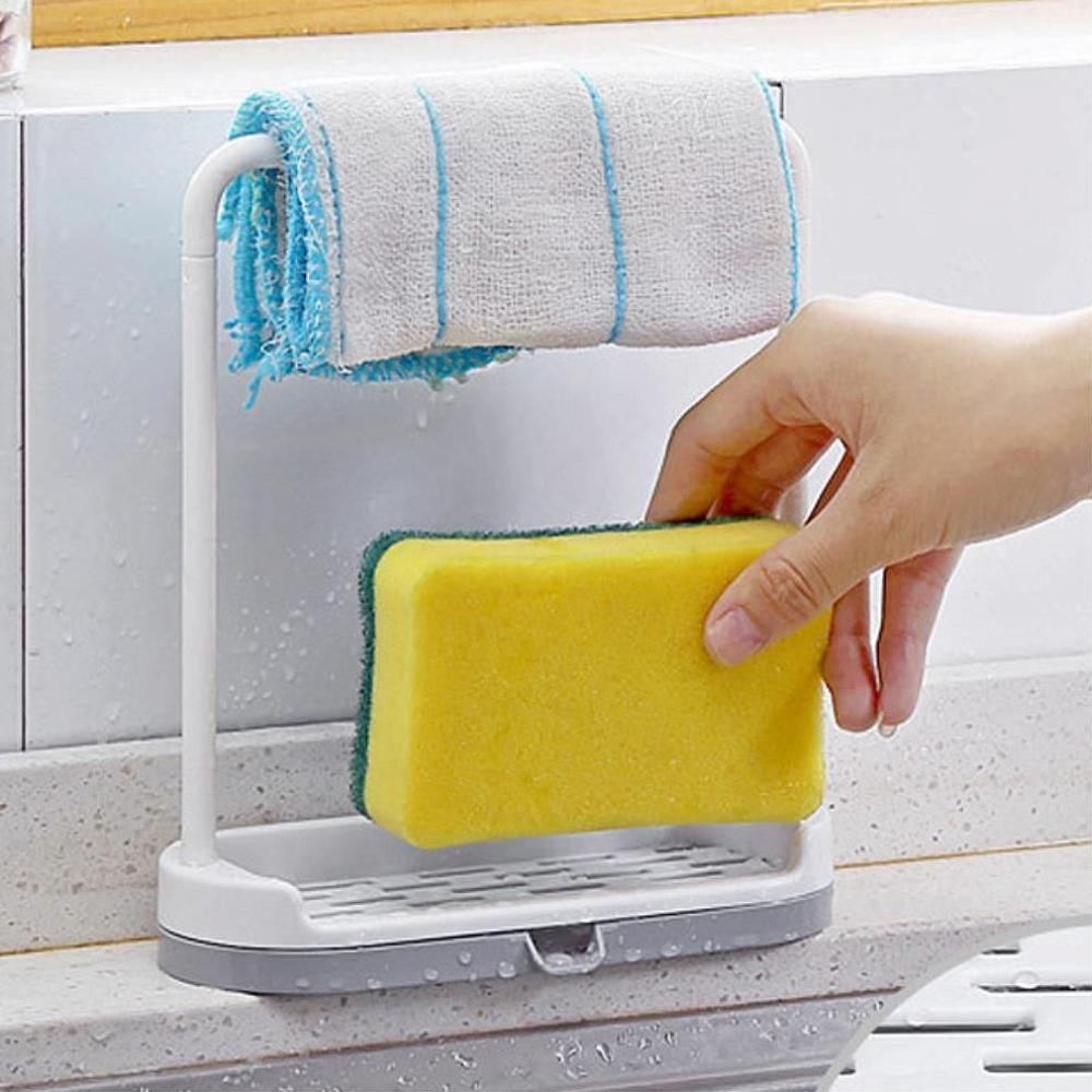 노멜마켓 물빠짐 수세미거치대 행주걸이 비누거치대 비누받침대 수세미걸이 수세미받침, 1, 해당상품