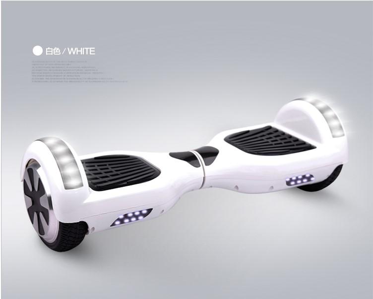호버보드 스마트 바퀴두개 두바퀴 체감 블루투스 부드러운작동 성인 자평형전동차 전동 드리프트차 C0136V T0265inch클래식화이트