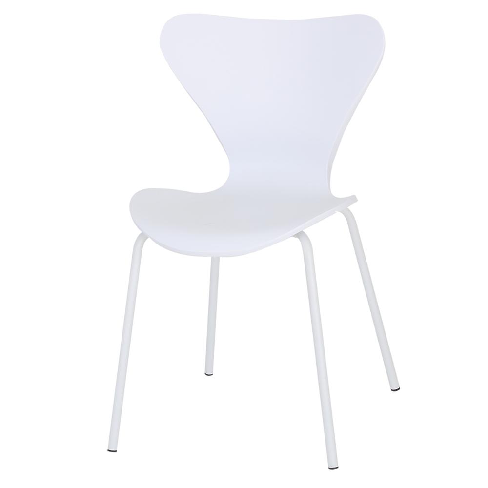 THEJOA 세븐체어 인테리어의자, 세븐체어-화이트