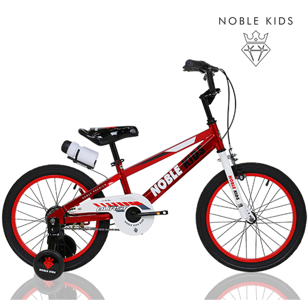 NOBLE KIDS 2021 아동용 어린이자전거 버스트C 18인치, 버스트C 18형 레드 미조립