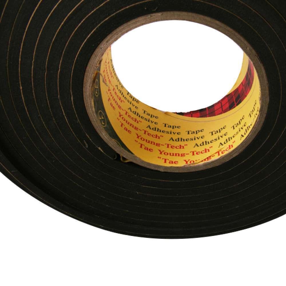 15mm 밀도높은 에바 스펀지 단면 테이프 방음테이프, 두께2mm