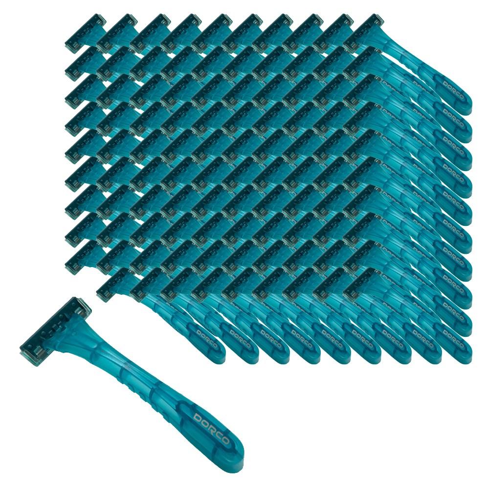 도루코 일회용 3중날 터치쓰리 면도기 P901, 1개입, 100개-10-4655217142