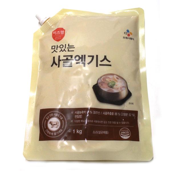 CJ 이츠웰 맛있는 사골엑기스 1kg, 1개