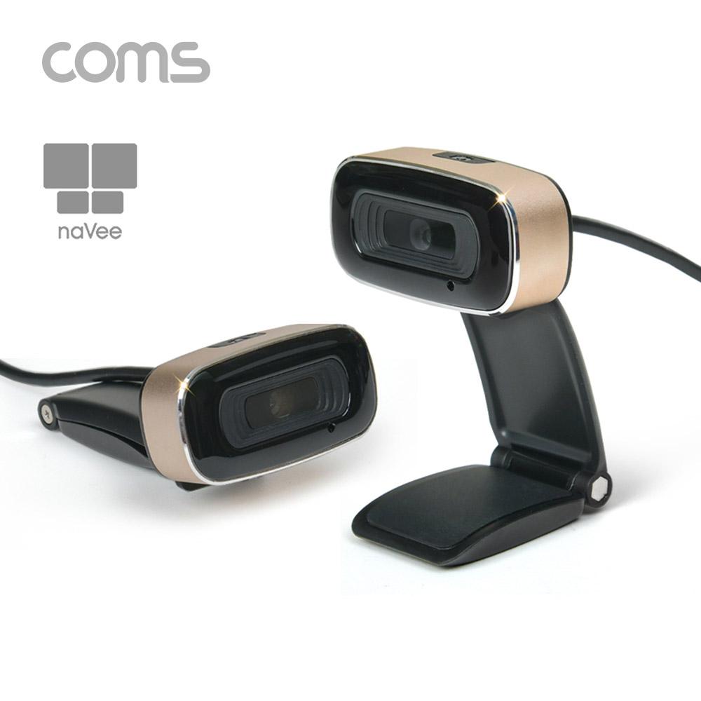 Coms AOCY2123 나비 HD PC 카메라 Bronze 720P 30FPS NV50 HD100, 1개