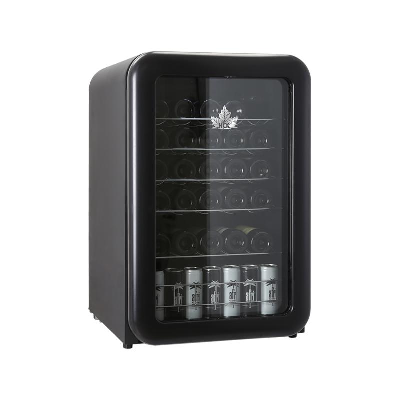 와인냉장고 H SC130RDA디저트카페 가정용 소형 싱글도어 냉장 소형냉장고 컬러 T04블랙