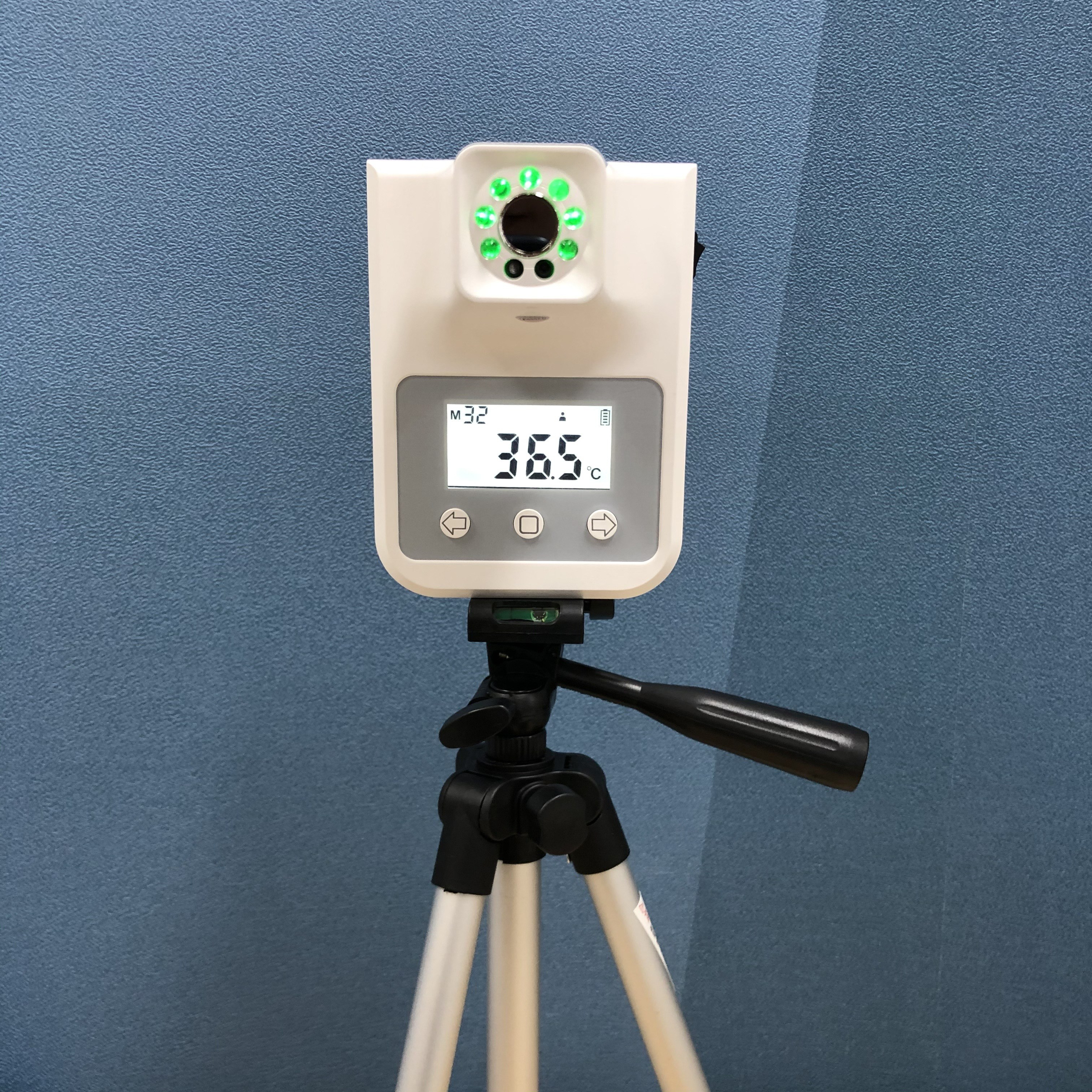 비대면 자동 열체크 온도계 K20, 고급형 삼각대(1.5m)