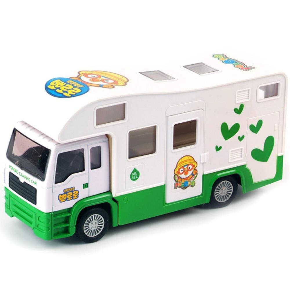 뽀로로 역할놀이 유아 선물 캠핑카 2개 장난감 어린이장난감, 단일상품