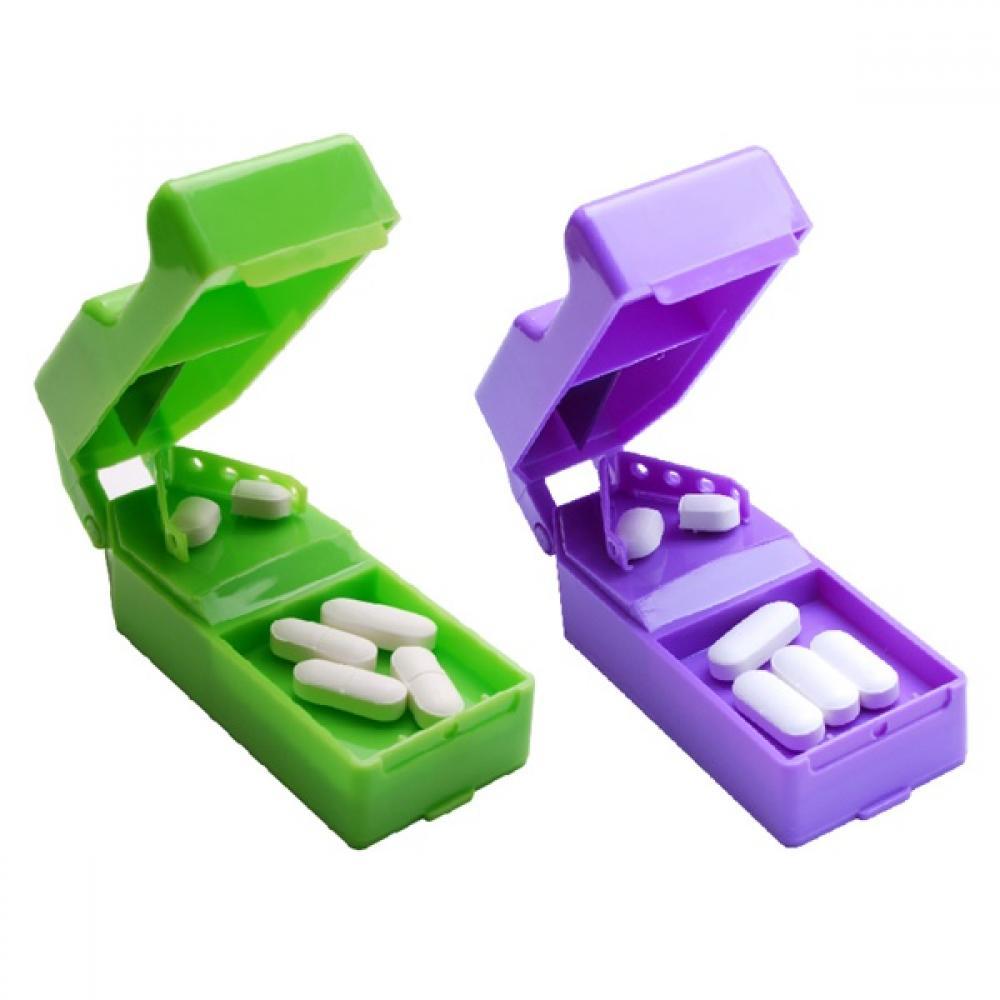[B.S]디럭스 약절단기 67767 색상랜덤 알약절단기 알약커터기 약가위 약절단기 알약분쇄기 약분쇄기 (POP 5696269081)