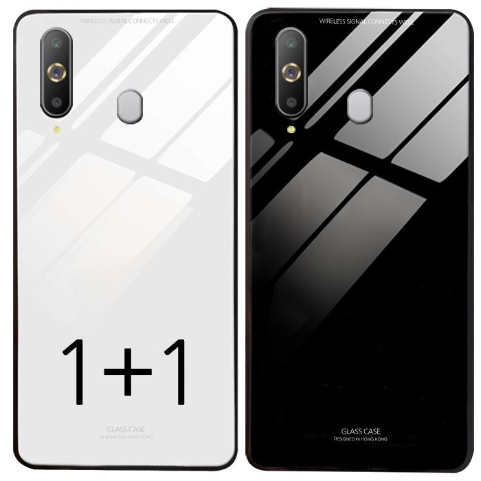 더조은셀러 1+1 갤럭시A9 프로 2018 강화유리 케이스 A920 G887 방탄 글라스 범퍼 커버 휴대폰
