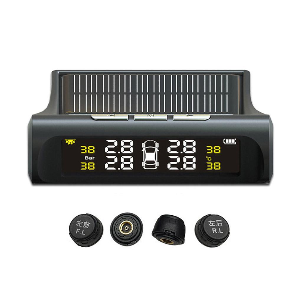 빠른직구 타이어공기압 센서 TPMS, 컬러(태양열충전/외장)