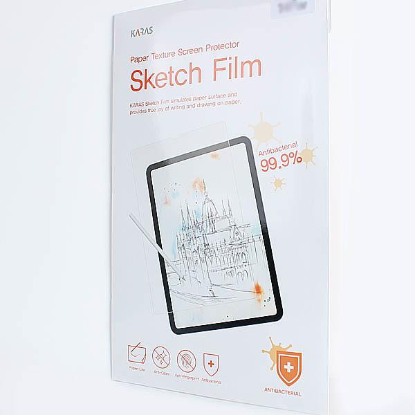 ASUS 젠북14 UX434FLC 스케치필름 노트북액정필름 종이질감 향균필름, 1