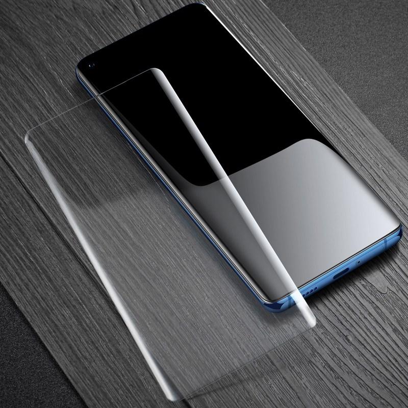빅파워 LG V50 V40 V30 G8 G7 UV 강화유리 필름, 1개