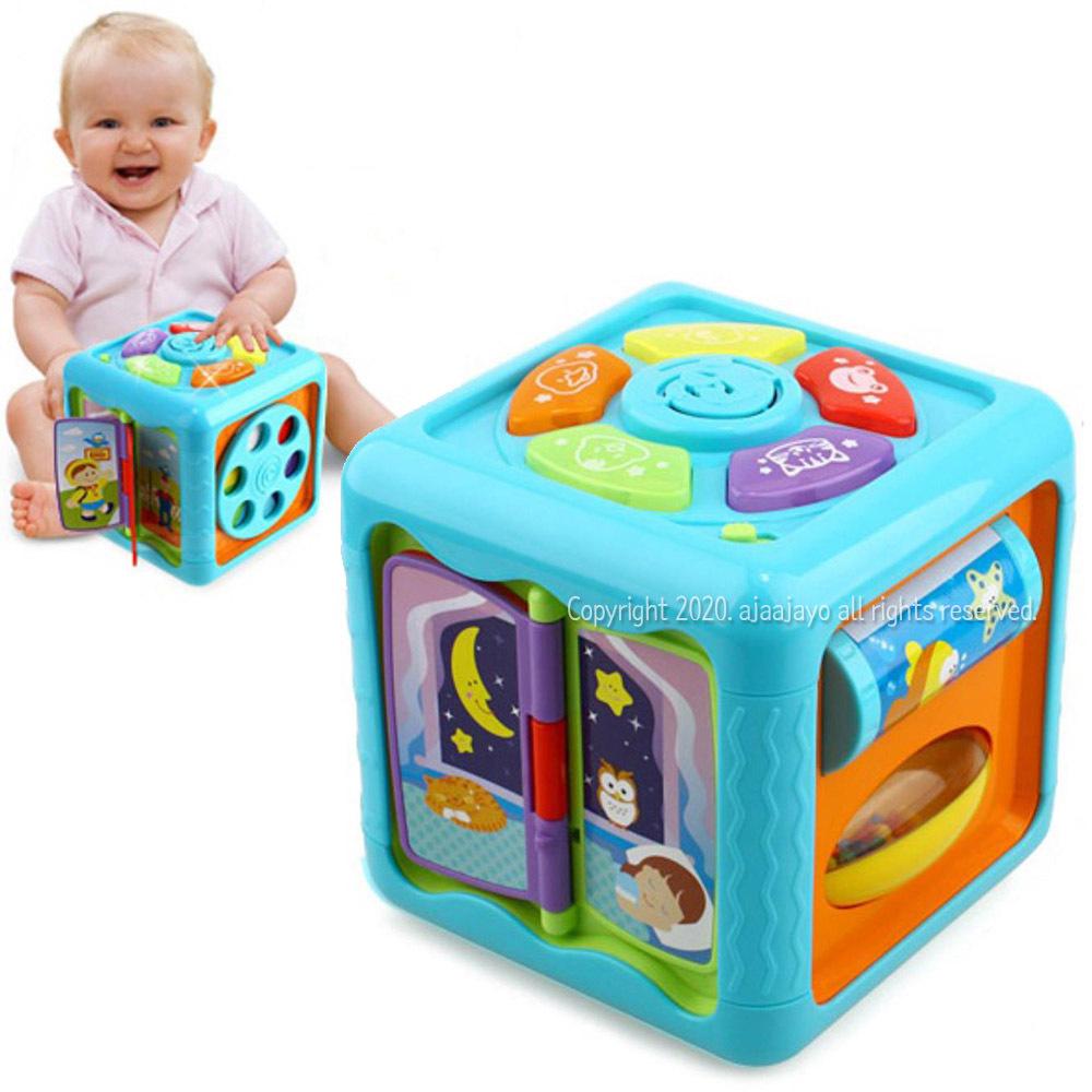 감각발달 큐브 6개월 아기 장난감 영아장난감 9개월, 본문참조