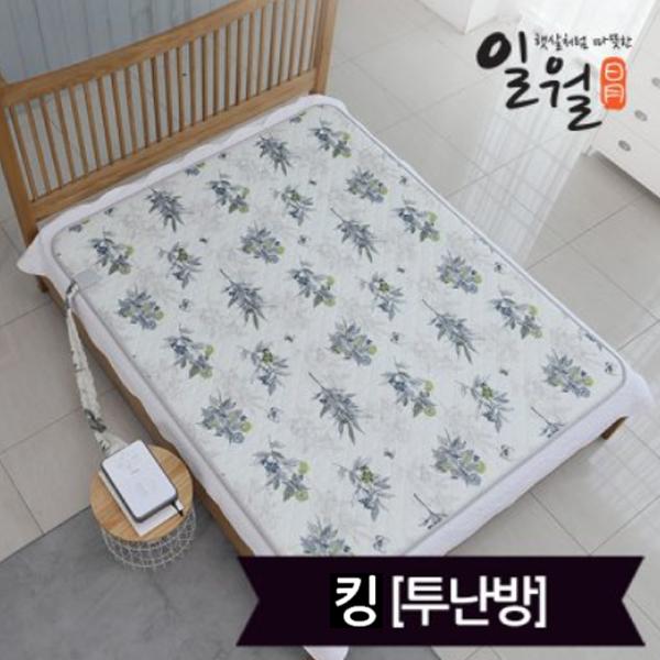 특 일월 숲속애 온수매트 킹(165x200), 단일상품