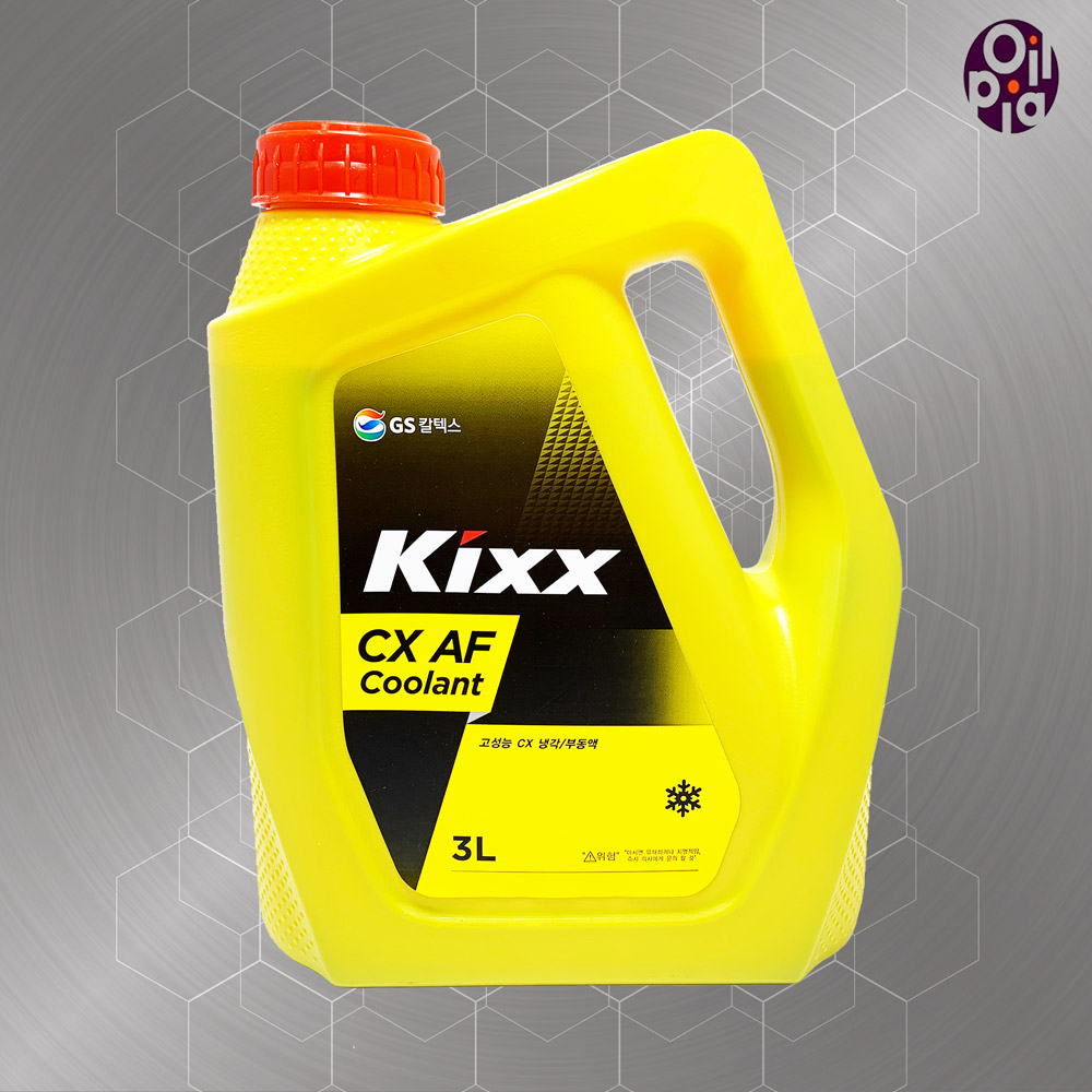 GS칼텍스 CX 부동액 사계절부동액 3리터, 1개, CX 부동액 3L