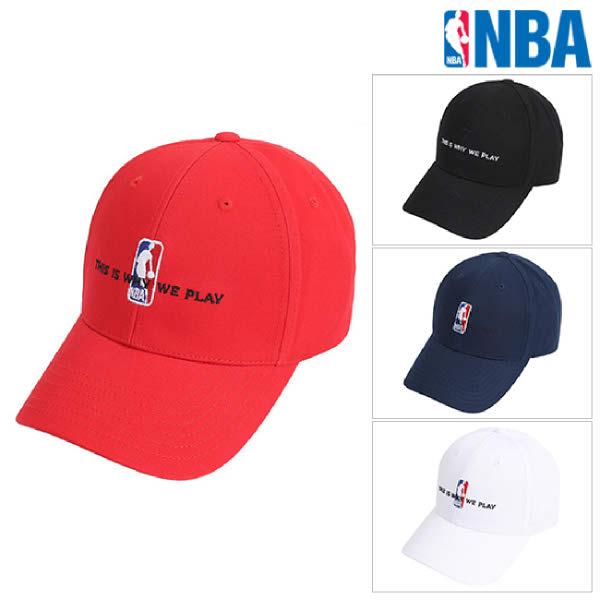 [현대백화점][NBA]엔비에이 N205AP032P 공용 로고맨 레터링자수 캡 모자