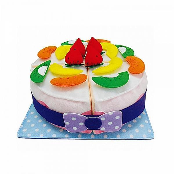 미스터강 폭신폭신 헝겊 케이크 소꿉놀이