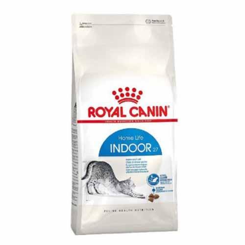 로얄캐닌 인도어 27 고양이 사료, 4kg, 4개