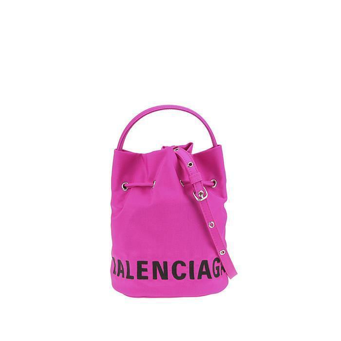 [Balenciaga]20FW 발렌시아가 로고 휠 버킷백 619458H852N 5560 아이직고