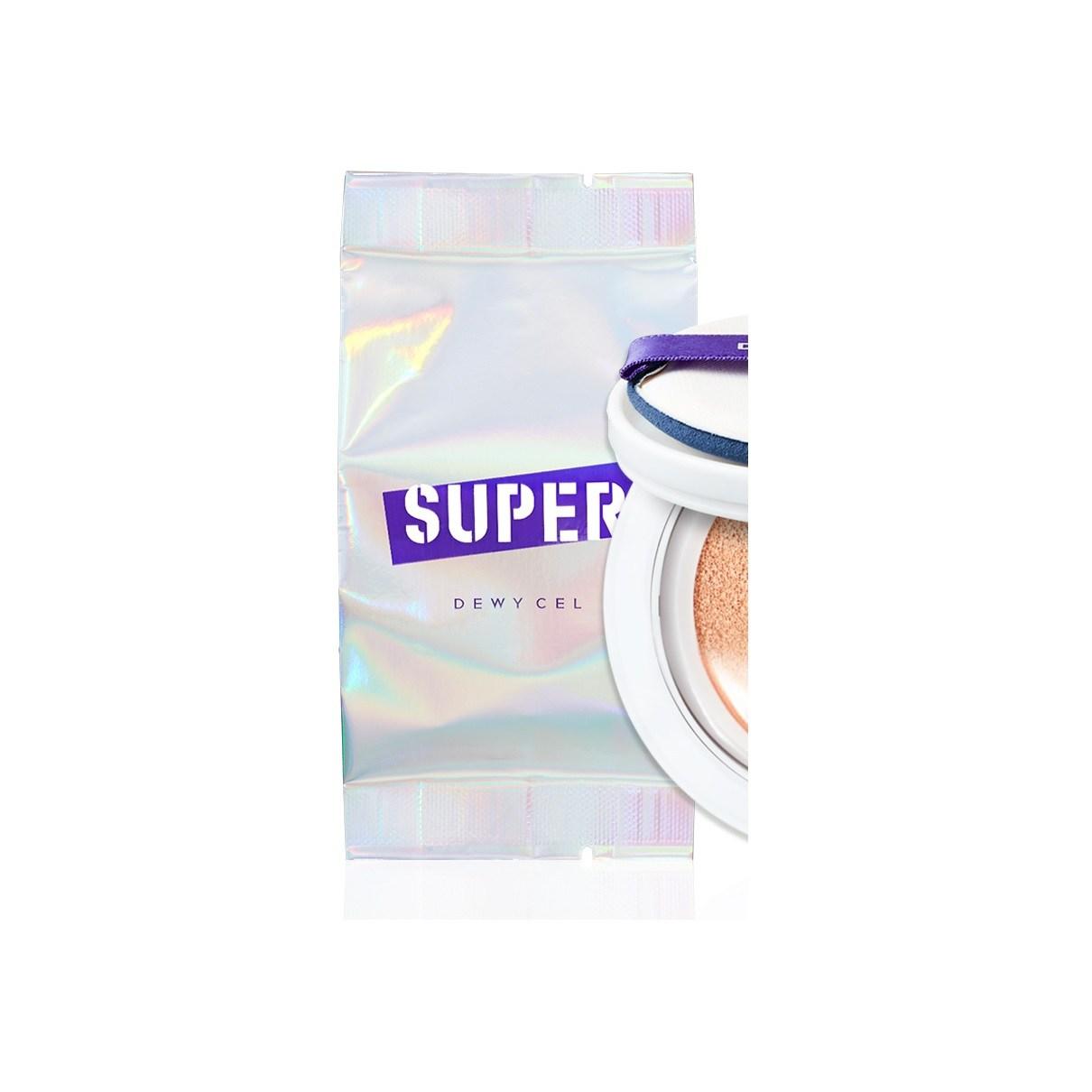 듀이셀 슈퍼플 쿠션 15g(SPF50) 23호 리필, 1개