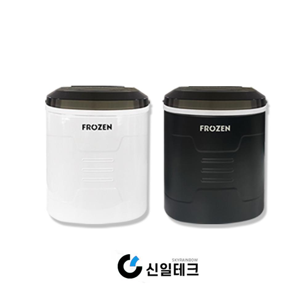 가정용 미니제빙기 하루생산15kg 휴대용 아이스메이커, 블랙 (POP 1925995502)