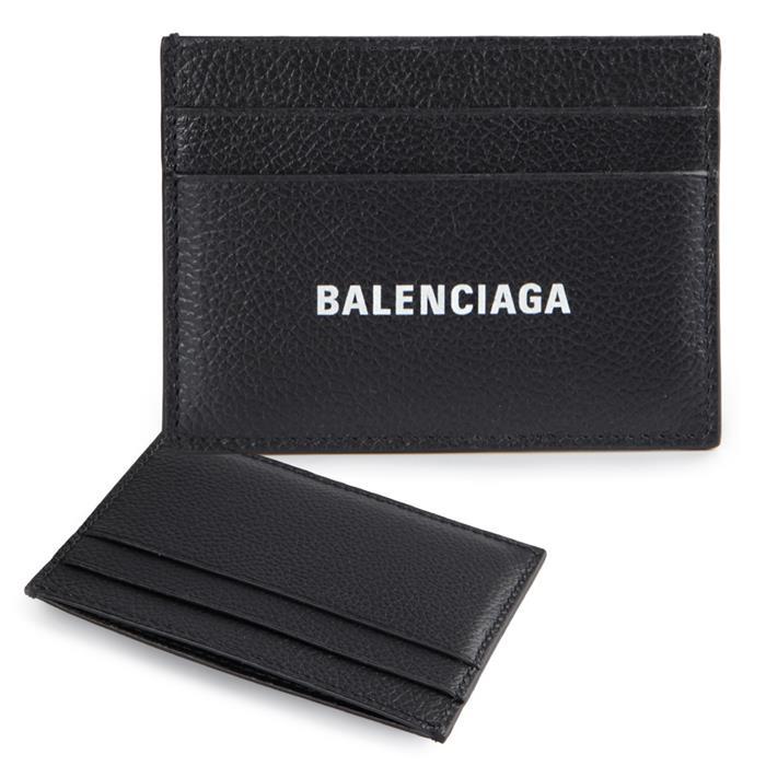 [큐럭셔리] 발렌시아가 카드홀더 594309 1IZI3 1090 블랙 지갑