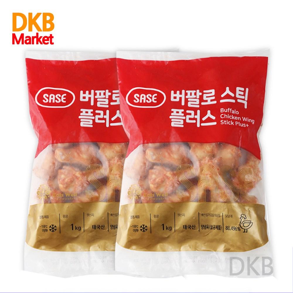 사세 버팔로스틱 플러스1kg + [무료배송], 2팩