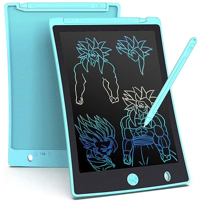 아롤룬 LCD 라이팅 태블릿 8 5인치 컬러 스크린 디지털 전자문자 태블릿 휴대용 필기판 아동용 홈 스쿨 오피스 라이트 블루용 두들 그리기 패드, 상세페이지 참조