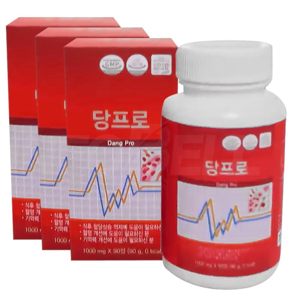 당뇨 혈당 혈행 개선! 혈당 관리 조절 혈당 조절 영양제 당케어 당프로, 2세트(12개월)