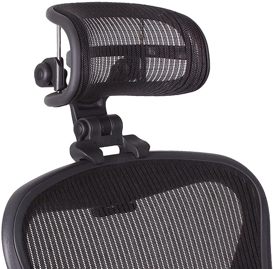 3.예상수령일 2-6일 이내 VendorGear 아론 체어 전용 헤드 레스트 메쉬 타입 Herman Miller Aeron Chair, One Color