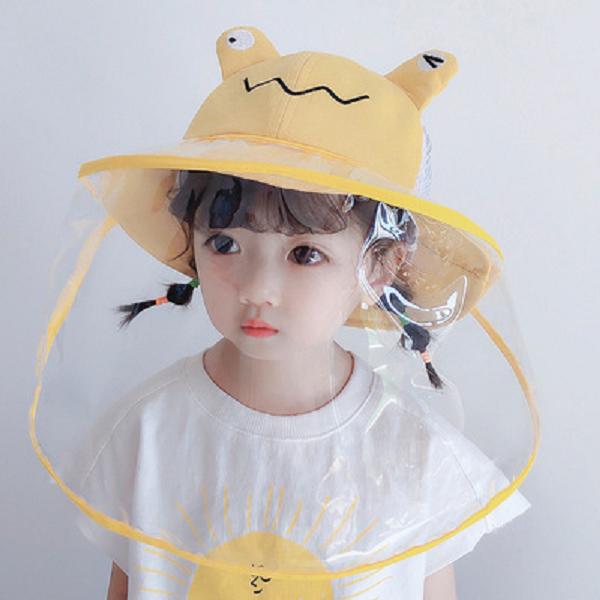 [레몬] 봄 가을 베이비 메쉬 모자 2~6세 48~52cm 벙거지