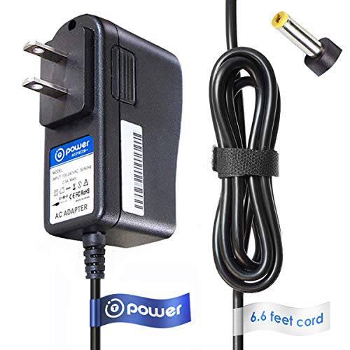 T-Power 6.6ft Ac 어댑터 호환가능한 with Korg MINIKP MINIKP1 MINIKP2 KAO