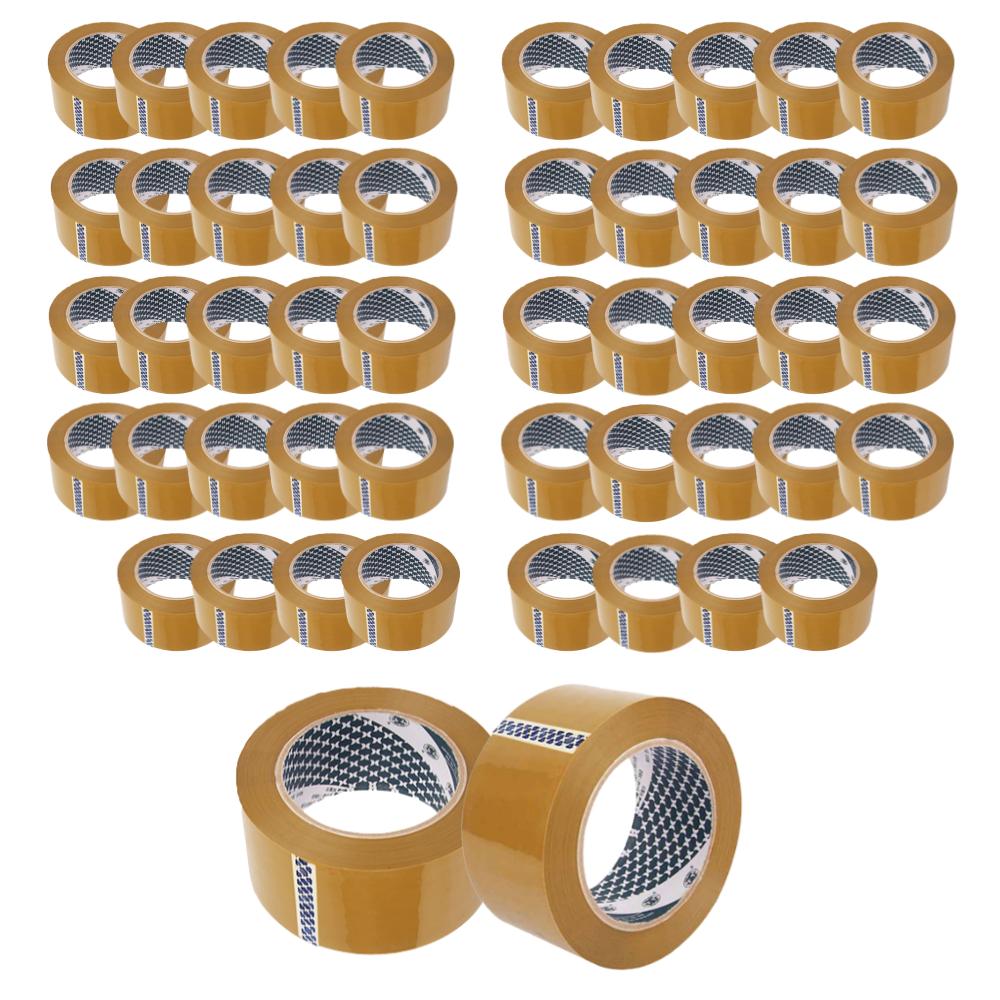 우림인천지사 박스테이프 더블경포장(80Mx50개)L50 황색, L50-더블경포장(80M×50개)황색 (POP 4526837485)
