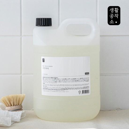 [생활공작소] 주방세제 3L, 01. 주방세제 3L x 1개 쌀뜨물향, 상세설명 참조